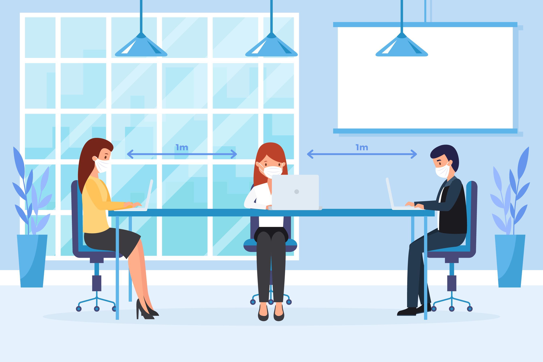 DISTANCIA SOCIAL OFFICE