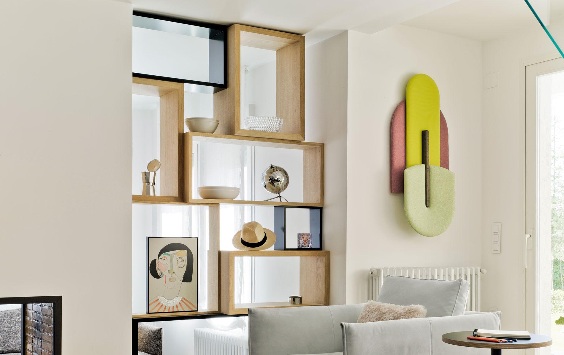 Panel personalizable fonoabsorbente Beetle. Imagen y diseño de SANCAL