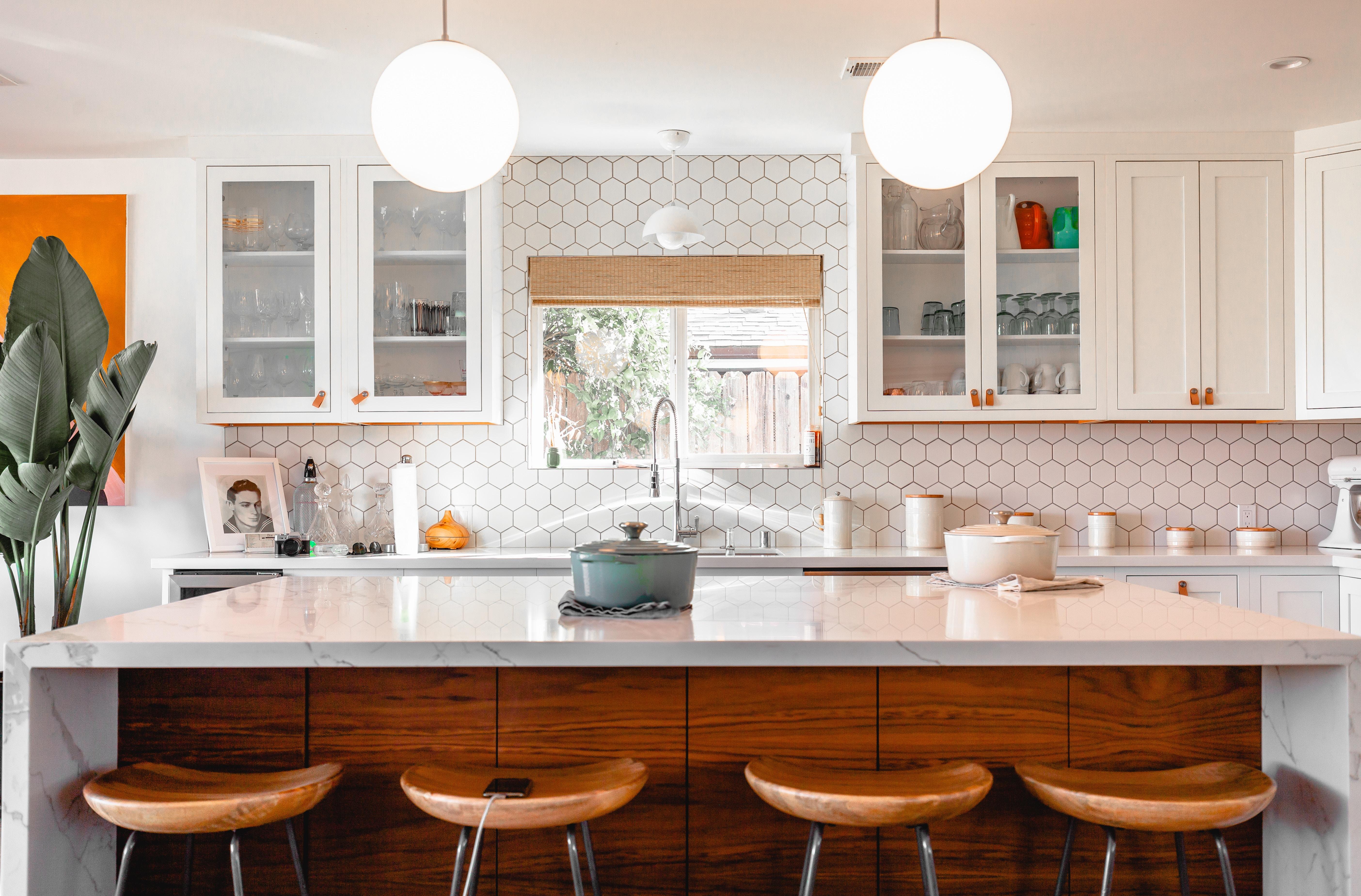 Cocina rectangular casa